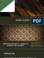 Journal Reading - Tuberculous Meningitis