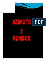 Rumbo y Azimut