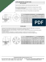 Transmisiones ALFA - Catalogo Acople a Disco - Acoplamientos Elásticos de Discos