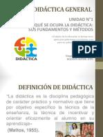 Unidad 1 Didactica General