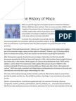 The History of Maca