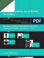 Residuos  solidos en el Distrito de Chilca.pptx