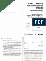 Castellò, M. (2007) El Proceso de Composición de Los Textos Académicos