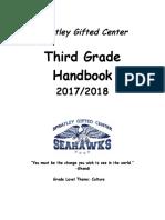 third grade handbook sy1718