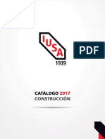 Iusa Catalogo Construccion 2017