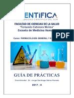 Guia de Practica Farmacologia General y Especial_2017-II