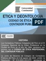 Codigo de Etica Del Contador Publico Paul