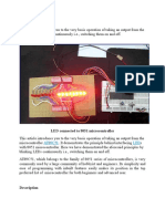 How to Display Text on LED Using 8051 Microcontroller
