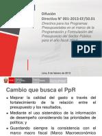 116Programas Presupuestales 2014