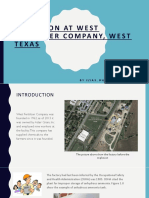 Explosion at West Fertilizer Company, West Texas