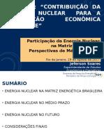Participação da Energia Nuclear na Matriz Energética