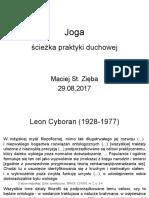 Joga - sciezka praktyki