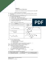 Organic Chemistry Problem Set