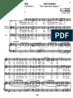 6 Notturnos de Mozart