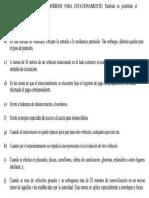 Lugares Prohibidos Para Estacionar en Guatemala