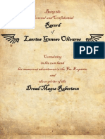 The Personal and Confidential Record of Laertes Geneso Olivares (Rogue Trader)