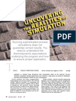 Uncovering the Realities of Simulatio