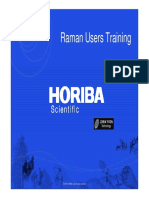 Raman User Training Map Treatement