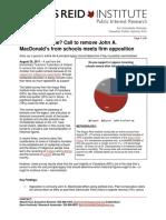 Angus Reid Institute John A. Macdonald Poll