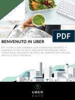[UberEATS] Informazioni Documenti Casellario