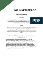 Seek Inner Peace