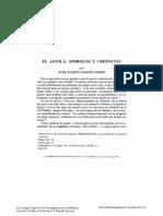 El Águila, Símbolos y Creencias-XOSÉ RAMÓN MARINO FERRO-14p