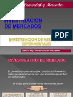 Investigacion de Mercados Experiemntales
