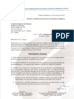 Carta Cotizacion Líder-Aseslp 2017