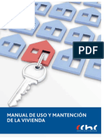 Manual de Uso y Mantencion de La Vivienda CChC Enero 2014