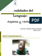 1.- Lenguaje Generalidades
