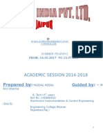 PLC & SCADA training report