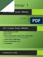 LNG Cryogenic Energy Utilization Ver1
