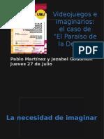 Pablo Martínez – Videojuegos e imaginarios