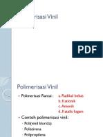 Polimerisasi Vinil