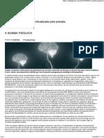 A Bomba Psíquica - Portal Shtareer