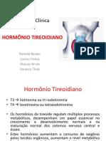 Hormônio Tireoidiano