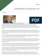 Brasil Vai Perder Competitividade e Investimentos Com Nova Tributação