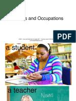 Presentation Vocabulary - Professions / Occupations