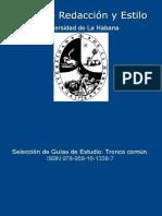 Taller de Redaccion y Estilo. E - VV.aa