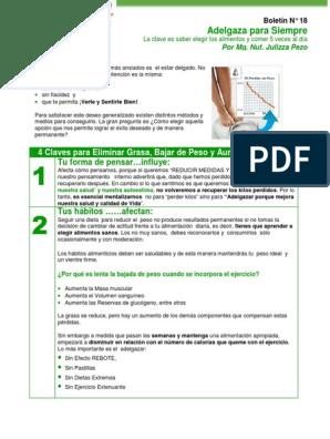 Adelgazar para siempre quintas pdf gratis
