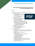 Atmel-8271-8-bit-AVR-Microcontroller-ATmega48A-48PA-88A-88PA-168A-168PA-328-328P_datasheet_Summary.pdf