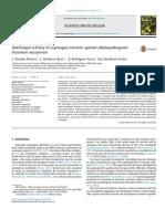 Antifungal activity of asparagus extracts against phytopathogenicFusarium oxysporum