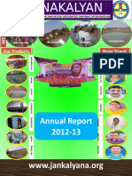 JANAKALYAN 16 Annual Report 2012-13