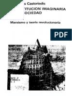 Castoriadis Cornelius - La Institucion Imaginaria de La Sociedad 01