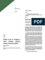 03 -Sampieri Cap 4 - Tipos de Investigacion - Metodologia de La Investigacion