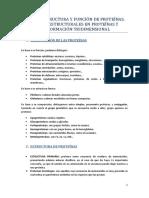 TEMA 2 ESTRUCTURA Y FUNCIÓN DE PROTEÍNAS. NIVELES ESTRUCTURALES EN PROTEÍNAS Y CONFORMACIÓN TRIDIMENSIONAL.docx
