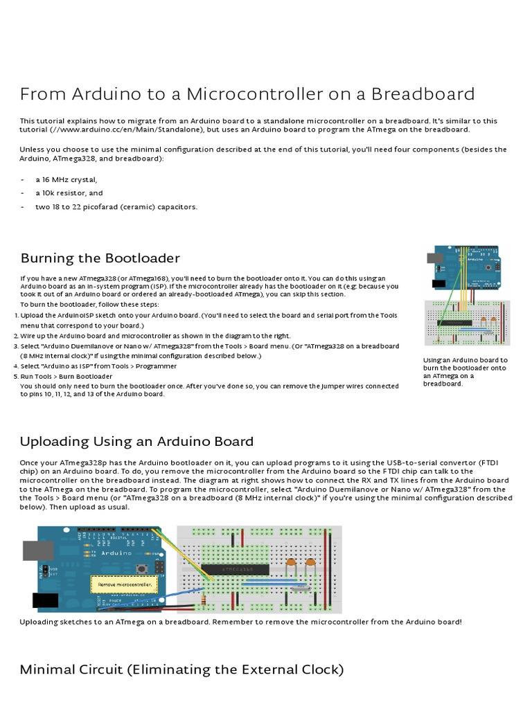 Arduino Arduinotobreadboardpdf Electronics Isp In System Programming And Standalone Circuits Open