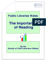 Importance of Readings Cl Wales