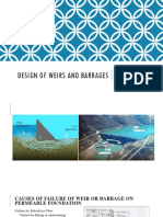 289407226 Design of Weirs and Barrages