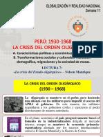 10. PERÚ 1930-1968